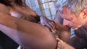 Skinny Hydie Waters interracial sex porn