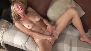 Hard pounding alongside saggy tits mature