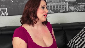 Large boobs american redhead gets a buzz out of rough sex HD