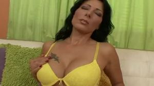 Creampied together with MILF Charlie Laine