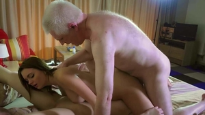 Group sex alongside beautiful girl
