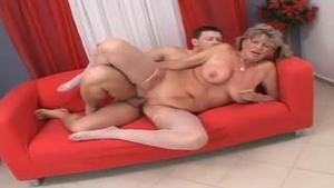 Nailed rough along with huge tits hungarian MILF
